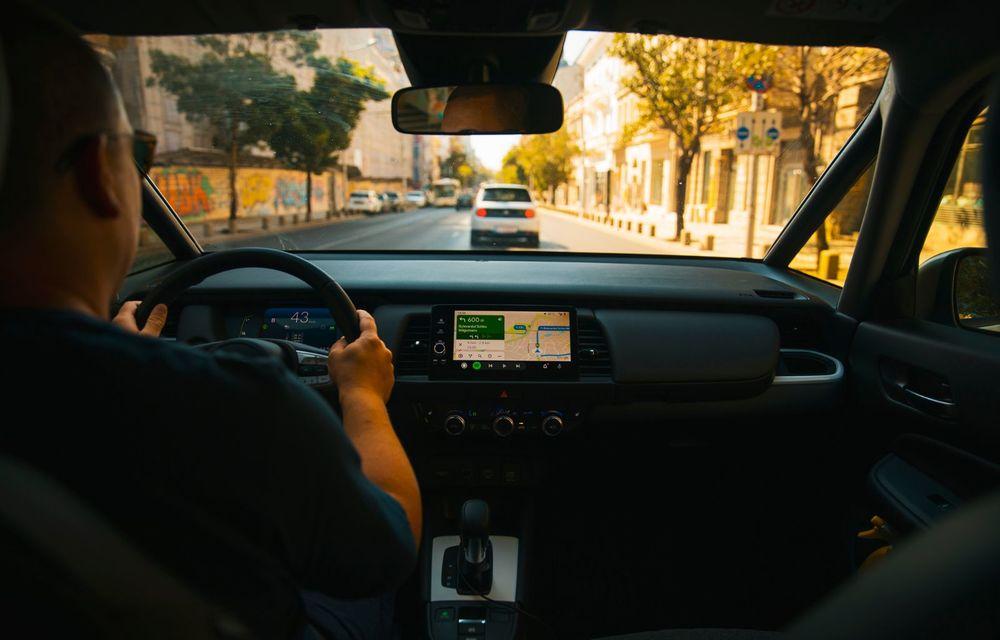 Honda versus jungla urbană: hibridul Jazz față în față în față cu electricul Honda e - Poza 12