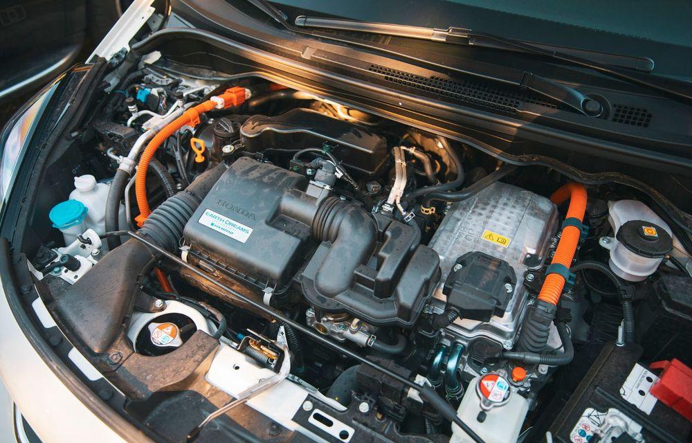 Honda versus jungla urbană: hibridul Jazz față în față în față cu electricul Honda e - Poza 61