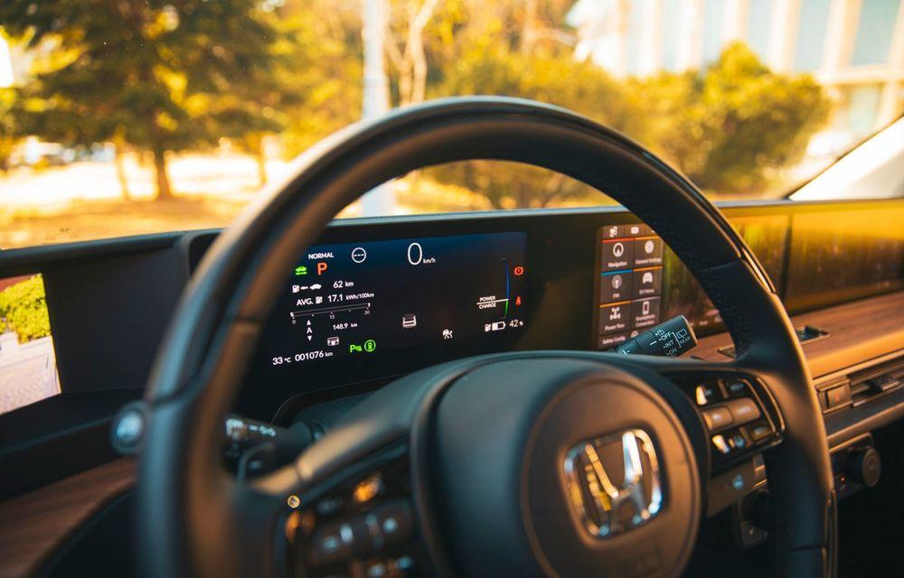 Honda versus jungla urbană: hibridul Jazz față în față în față cu electricul Honda e - Poza 32