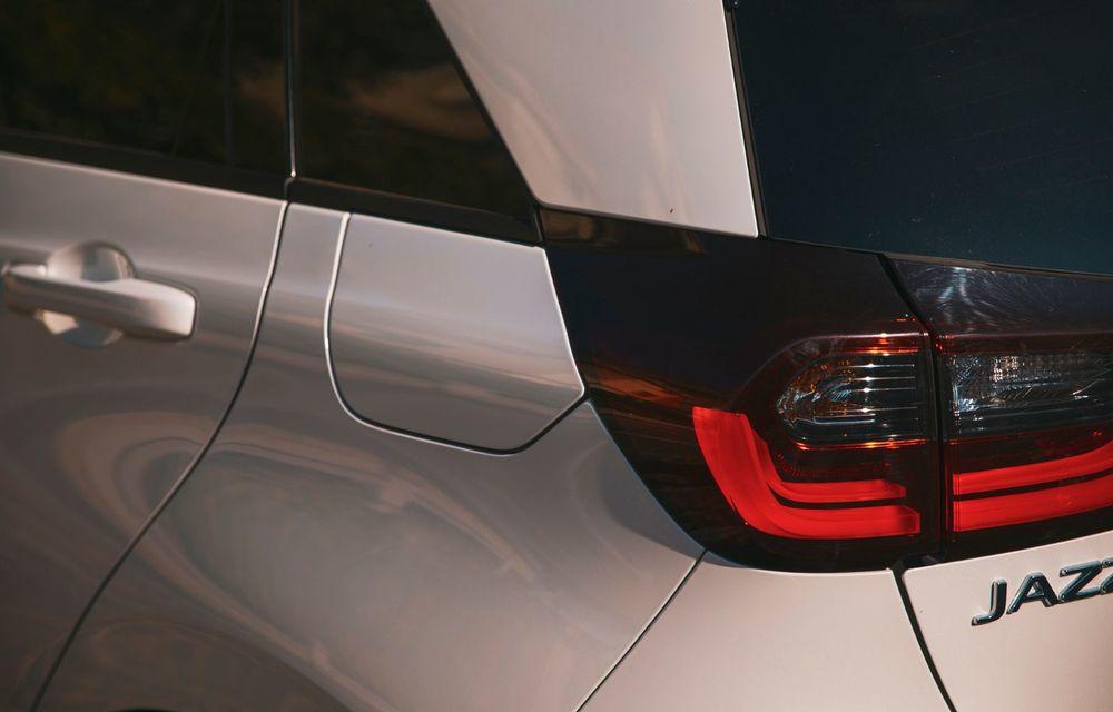 Honda versus jungla urbană: hibridul Jazz față în față în față cu electricul Honda e - Poza 48