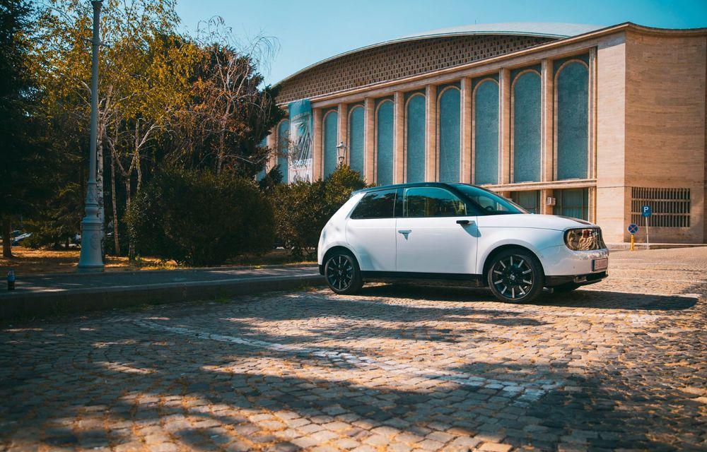 Honda versus jungla urbană: hibridul Jazz față în față în față cu electricul Honda e - Poza 20