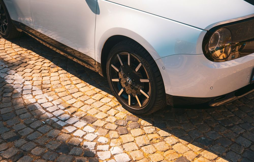 Honda versus jungla urbană: hibridul Jazz față în față în față cu electricul Honda e - Poza 24