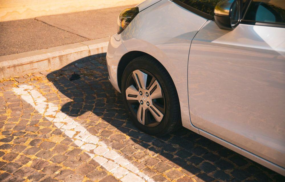 Honda versus jungla urbană: hibridul Jazz față în față în față cu electricul Honda e - Poza 49