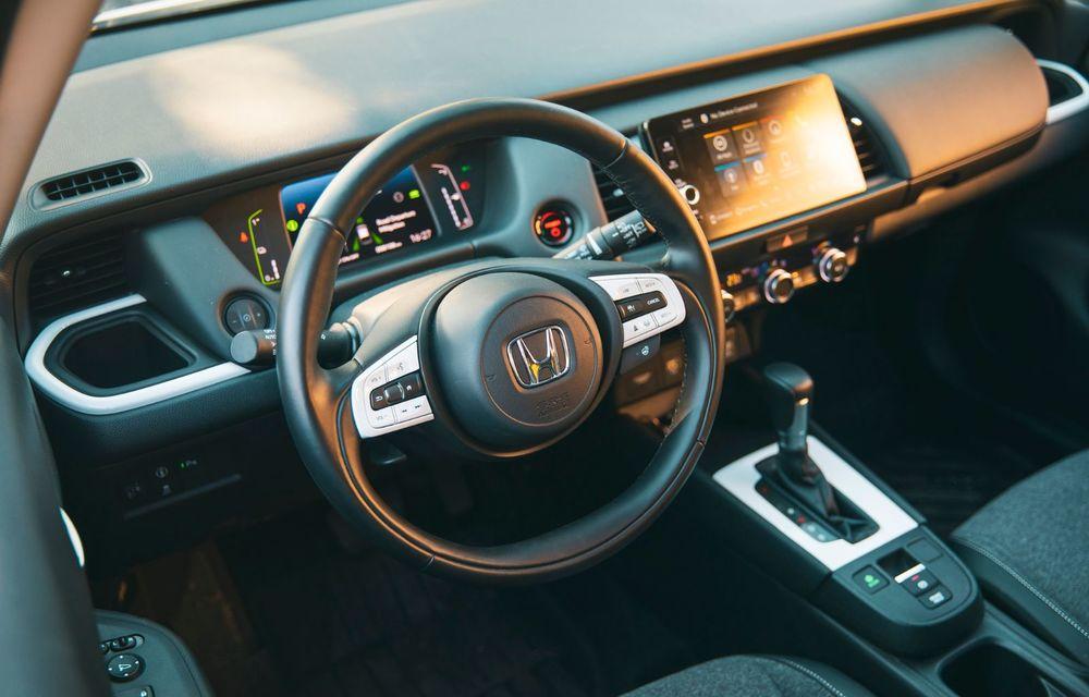 Honda versus jungla urbană: hibridul Jazz față în față în față cu electricul Honda e - Poza 60