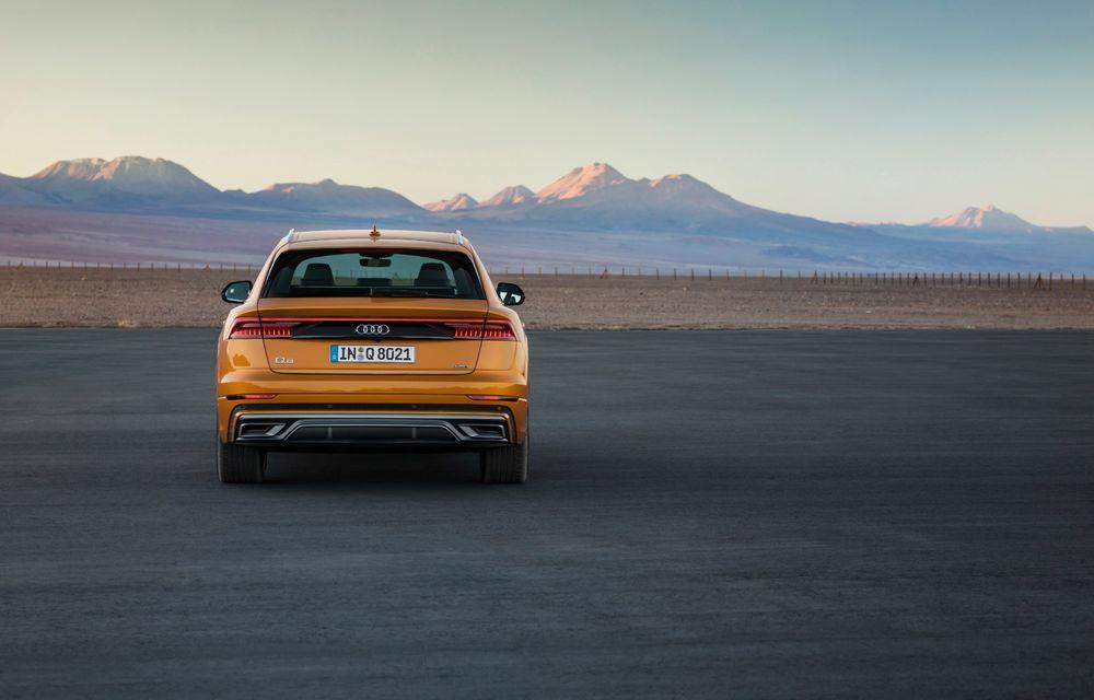 Mașinile din Romanian Roads Luxury Edition: Audi Q8, cel mai luxos SUV din gama constructorului de la Ingolstadt - Poza 4