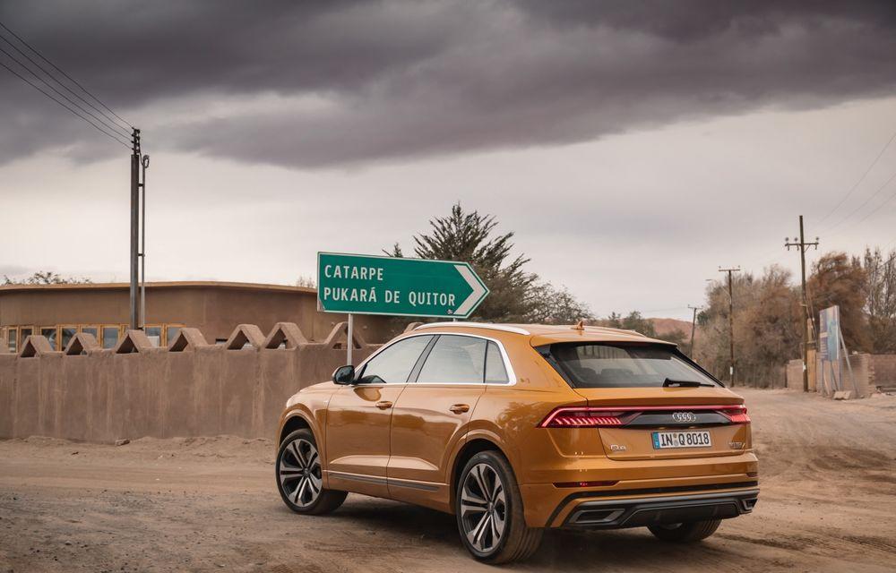 Mașinile din Romanian Roads Luxury Edition: Audi Q8, cel mai luxos SUV din gama constructorului de la Ingolstadt - Poza 9
