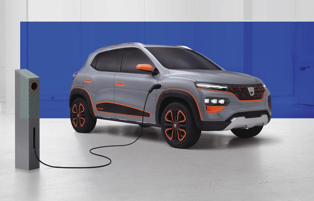 """Dacia Spring va fi prezentată în 15 octombrie: """"Cea mai accesibilă mașină electrică din Europa"""" va avea autonomie de 200 de kilometri - Poza 1"""