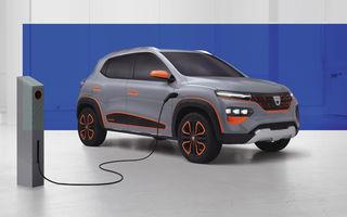 """Dacia Spring va fi prezentată în 15 octombrie: """"Cea mai accesibilă mașină electrică din Europa"""" va avea autonomie de 200 de kilometri"""