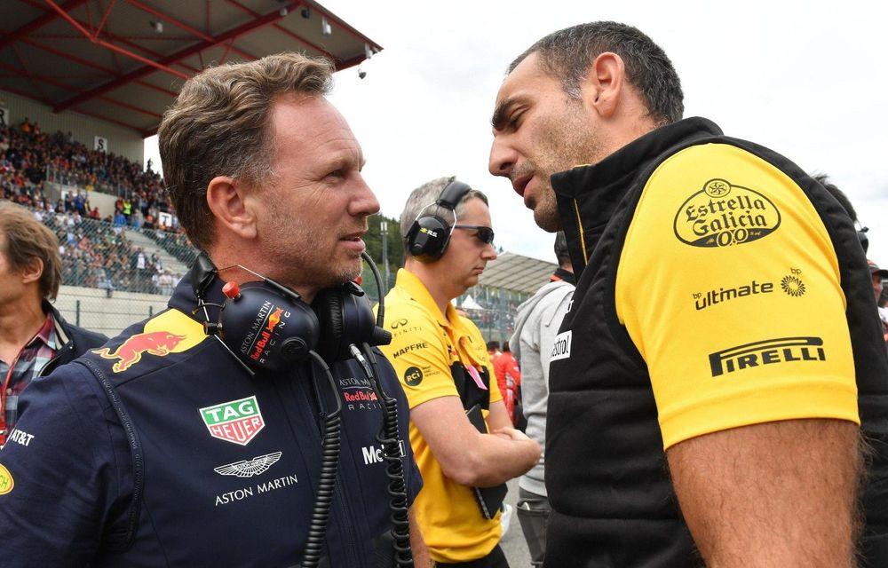 """Șeful Renault F1: """"Ne vom îndeplini obligațiile dacă Red Bull ne va cere să le furnizăm motoare"""" - Poza 1"""