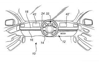 Volvo a înregistrat un patent inedit: volanul mașinii se poate glisa dintr-o parte în alta a interiorului