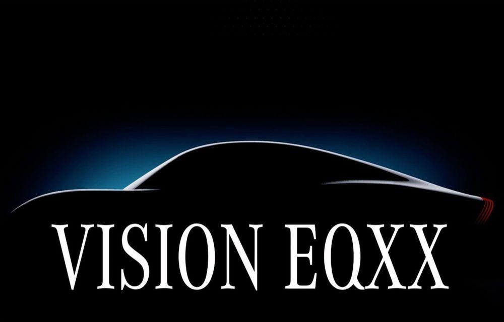 Mercedes pregătește conceptul electric Vision EQXX: autonomie de aproximativ 1200 de kilometri - Poza 1