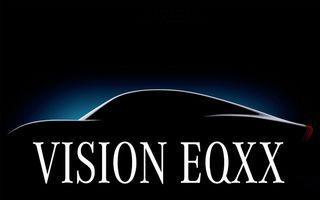 Mercedes pregătește conceptul electric Vision EQXX: autonomie de aproximativ 1200 de kilometri