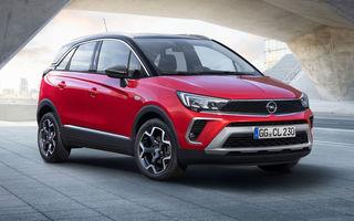Primele imagini cu Opel Crossland facelift: SUV-ul preia elemente de design de la Mokka și oferă motoare de până la 130 CP