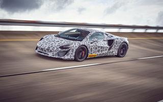 Primul McLaren hibrid va fi lansat în 2021: supercarul a intrat în faza finală de testare