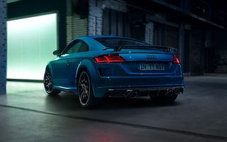 Audi TT va fi disponibil cu noua linie de echipare S Line Competition Plus: aripă spate fixă și echipamente speciale de interior
