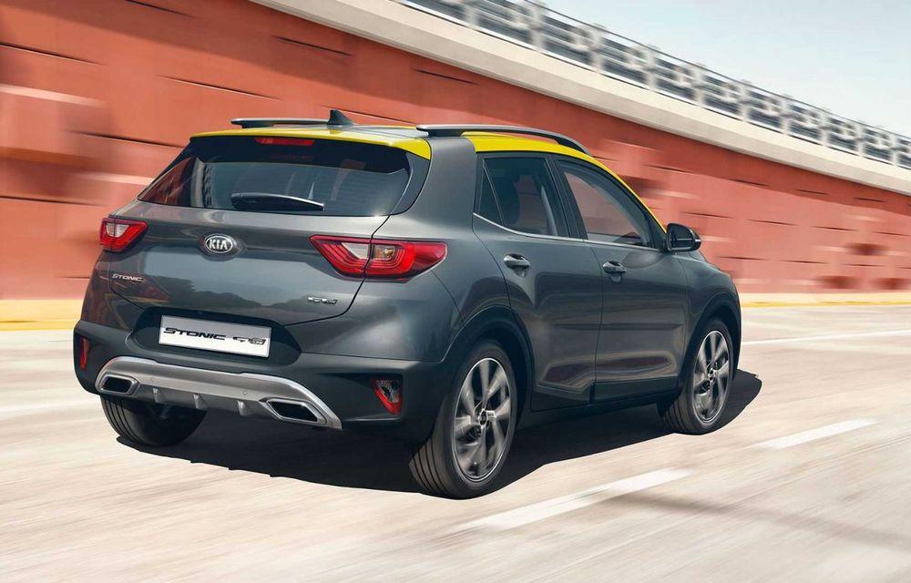 Kia introduce versiunea GT Line și pentru Stonic facelift: accesorii speciale de exterior și noutăți la interior - Poza 2