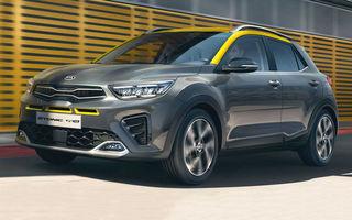 Kia introduce versiunea GT Line și pentru Stonic facelift: accesorii speciale de exterior și noutăți la interior
