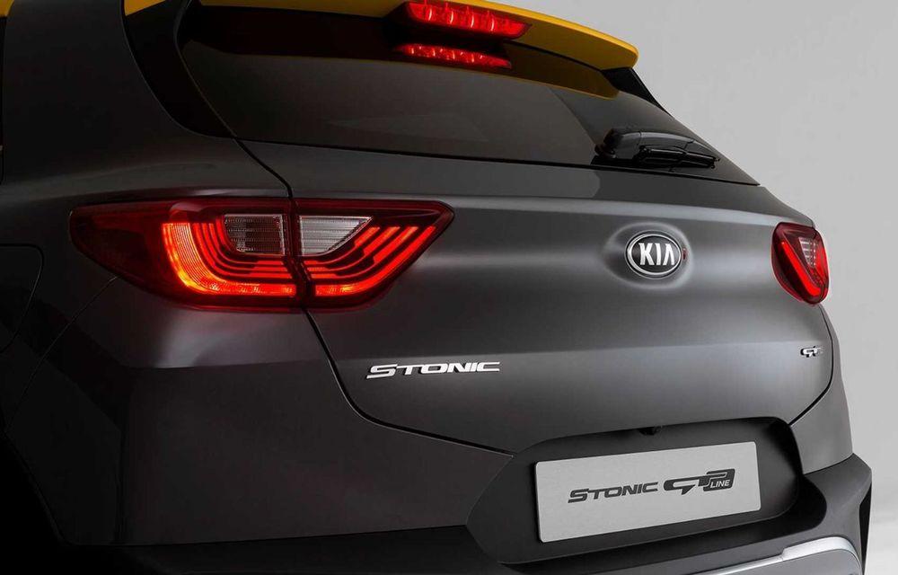 Kia introduce versiunea GT Line și pentru Stonic facelift: accesorii speciale de exterior și noutăți la interior - Poza 5