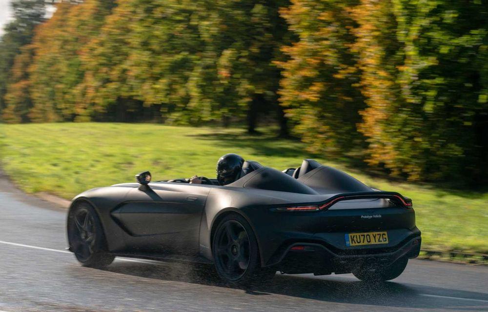 Aston Martin începe testele dinamice cu V12 Speedster: ediție specială cu 88 de unități și preț de pornire de peste 840.000 de euro - Poza 5