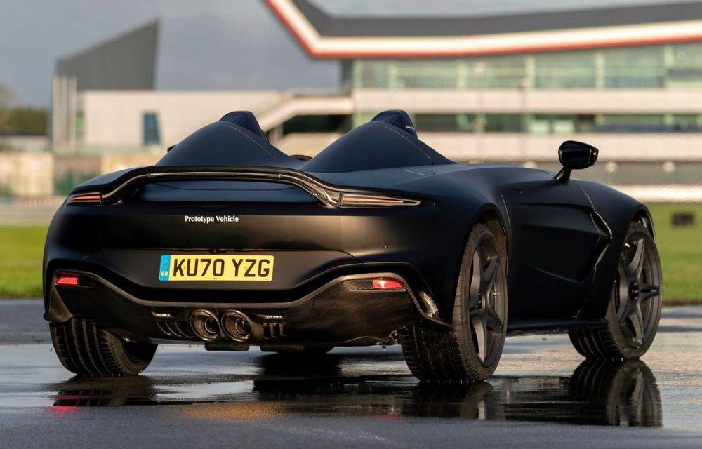 Aston Martin începe testele dinamice cu V12 Speedster: ediție specială cu 88 de unități și preț de pornire de peste 840.000 de euro - Poza 6
