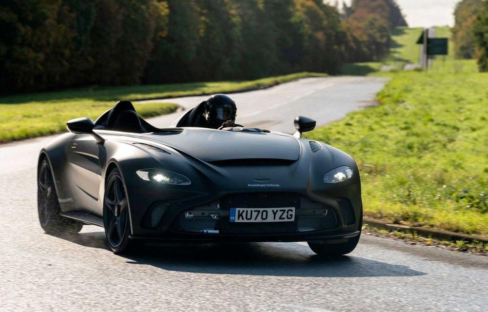Aston Martin începe testele dinamice cu V12 Speedster: ediție specială cu 88 de unități și preț de pornire de peste 840.000 de euro - Poza 3