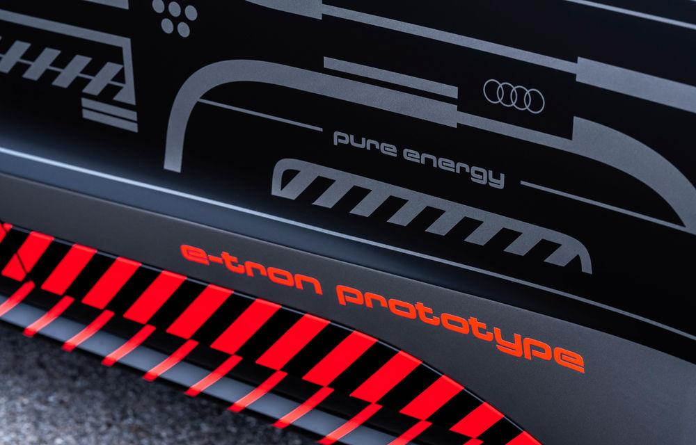Audi publică teasere cu versiunea de serie a lui e-tron GT: sportiva electrică va avea autonomie de 400 de kilometri - Poza 75