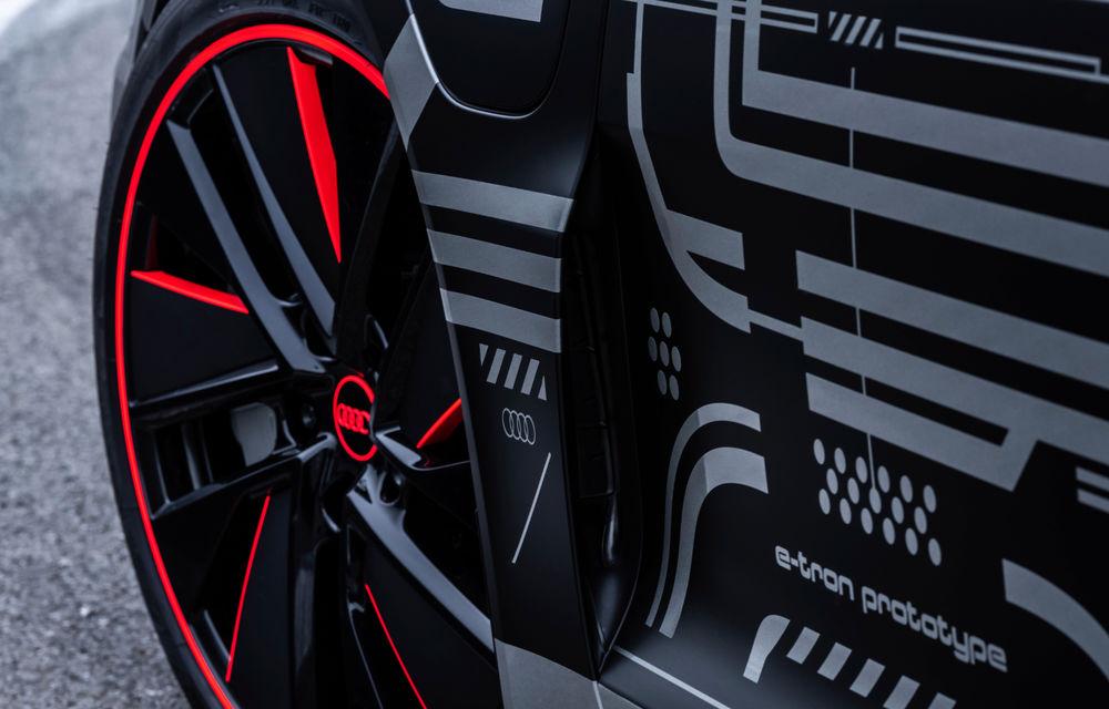 Audi publică teasere cu versiunea de serie a lui e-tron GT: sportiva electrică va avea autonomie de 400 de kilometri - Poza 61