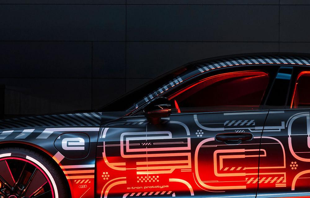 Audi publică teasere cu versiunea de serie a lui e-tron GT: sportiva electrică va avea autonomie de 400 de kilometri - Poza 36
