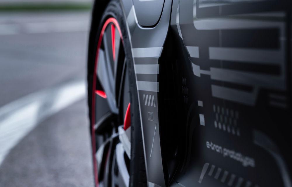 Audi publică teasere cu versiunea de serie a lui e-tron GT: sportiva electrică va avea autonomie de 400 de kilometri - Poza 57