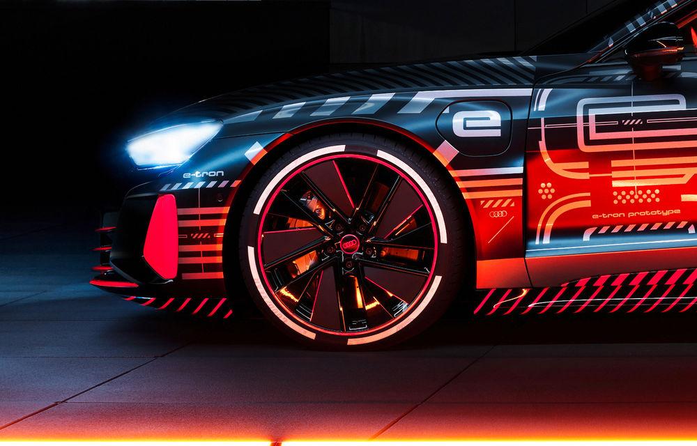 Audi publică teasere cu versiunea de serie a lui e-tron GT: sportiva electrică va avea autonomie de 400 de kilometri - Poza 37