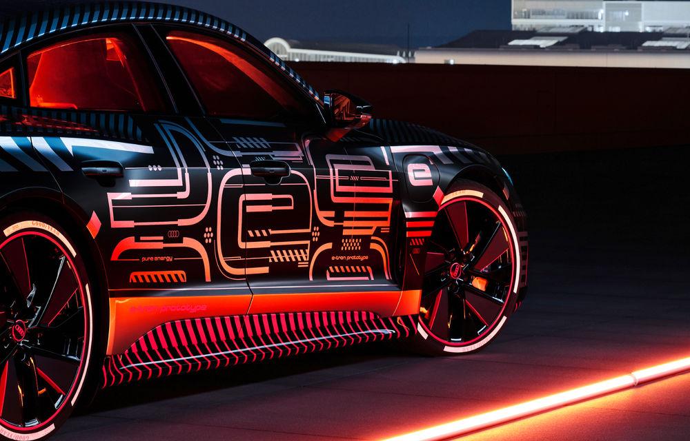 Audi publică teasere cu versiunea de serie a lui e-tron GT: sportiva electrică va avea autonomie de 400 de kilometri - Poza 33