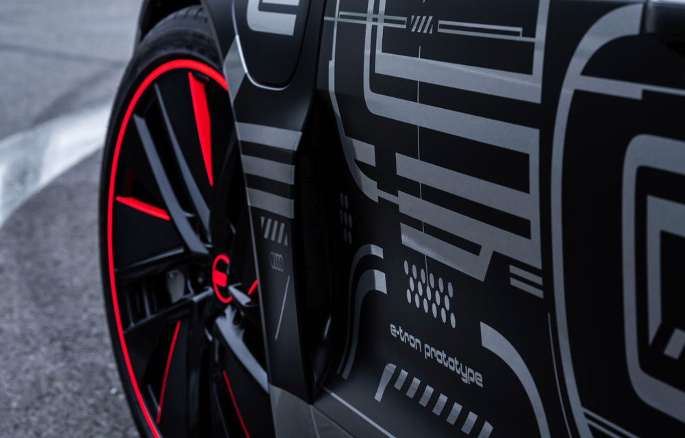 Audi publică teasere cu versiunea de serie a lui e-tron GT: sportiva electrică va avea autonomie de 400 de kilometri - Poza 60