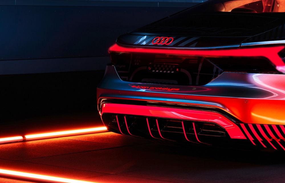 Audi publică teasere cu versiunea de serie a lui e-tron GT: sportiva electrică va avea autonomie de 400 de kilometri - Poza 32
