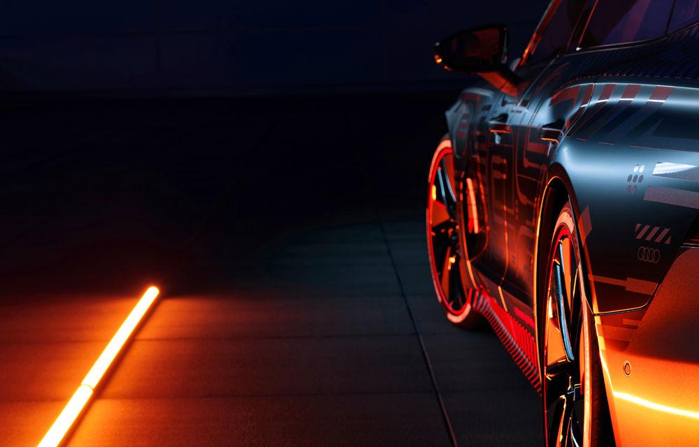 Audi publică teasere cu versiunea de serie a lui e-tron GT: sportiva electrică va avea autonomie de 400 de kilometri - Poza 42