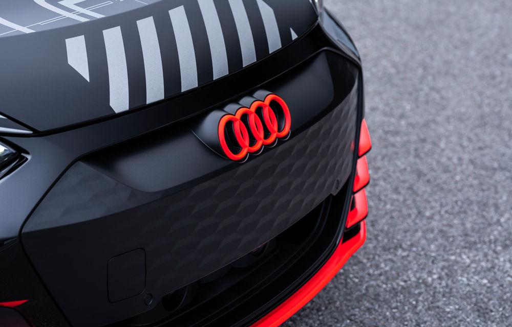 Audi publică teasere cu versiunea de serie a lui e-tron GT: sportiva electrică va avea autonomie de 400 de kilometri - Poza 78