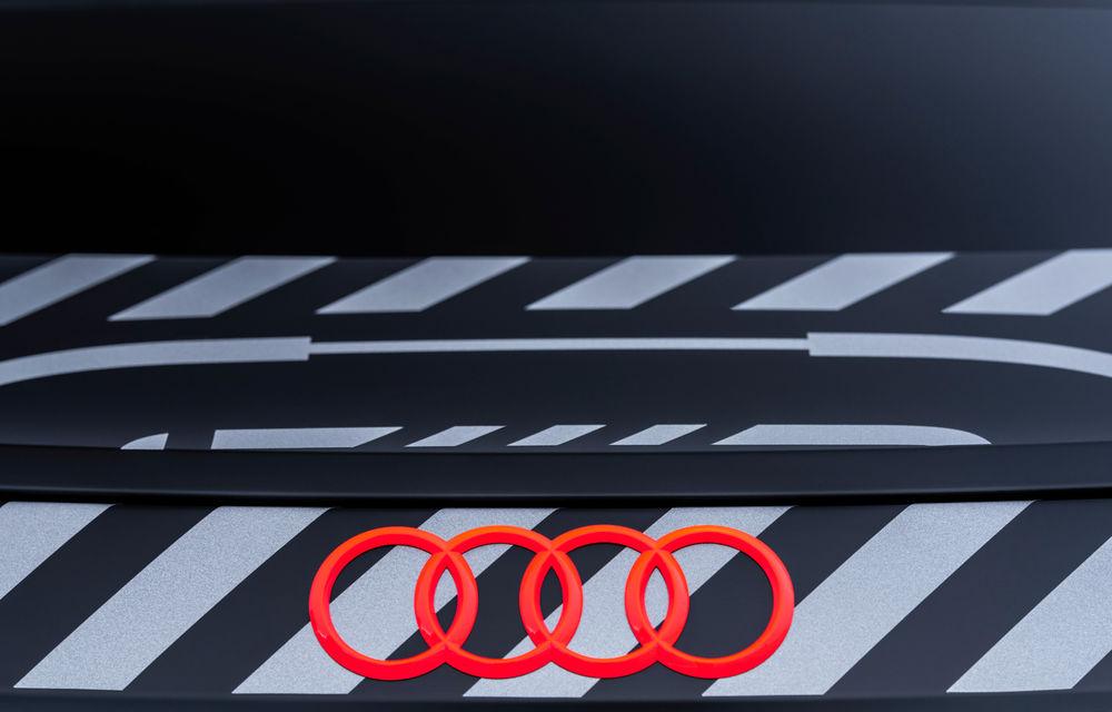 Audi publică teasere cu versiunea de serie a lui e-tron GT: sportiva electrică va avea autonomie de 400 de kilometri - Poza 51