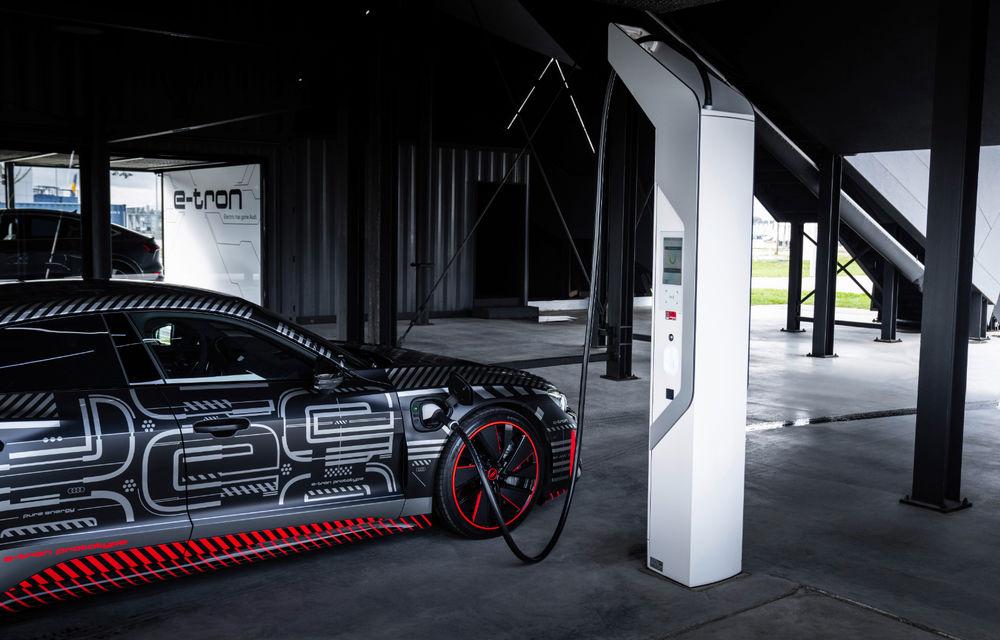 Audi publică teasere cu versiunea de serie a lui e-tron GT: sportiva electrică va avea autonomie de 400 de kilometri - Poza 69