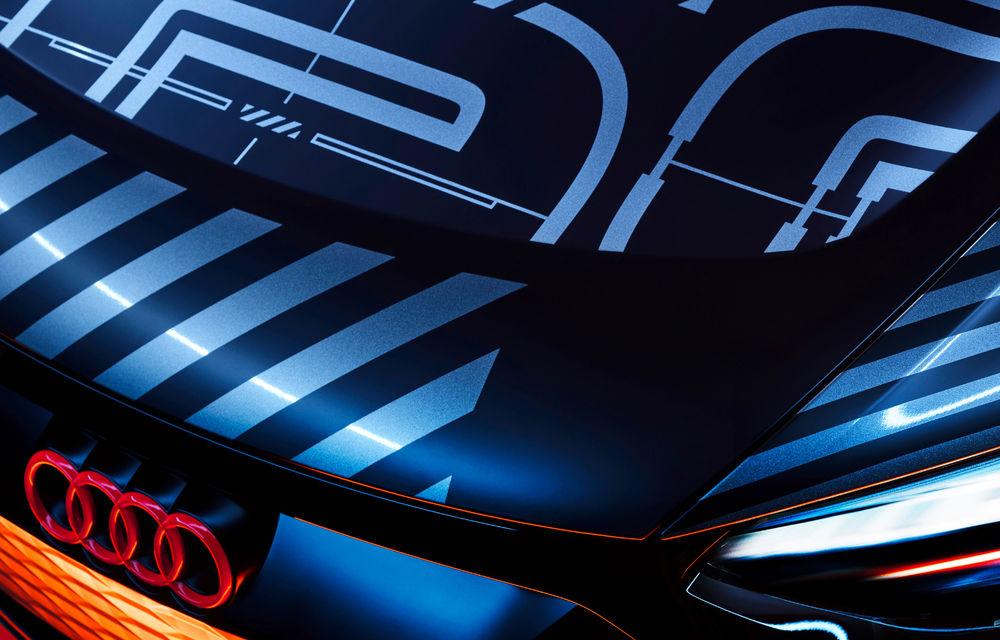 Audi publică teasere cu versiunea de serie a lui e-tron GT: sportiva electrică va avea autonomie de 400 de kilometri - Poza 16