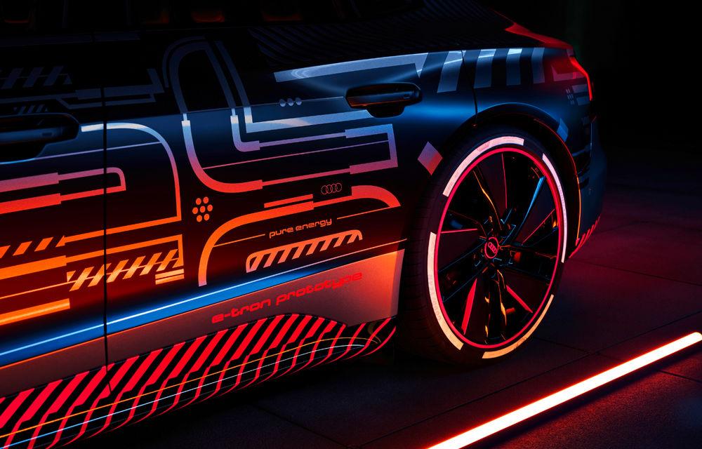 Audi publică teasere cu versiunea de serie a lui e-tron GT: sportiva electrică va avea autonomie de 400 de kilometri - Poza 45