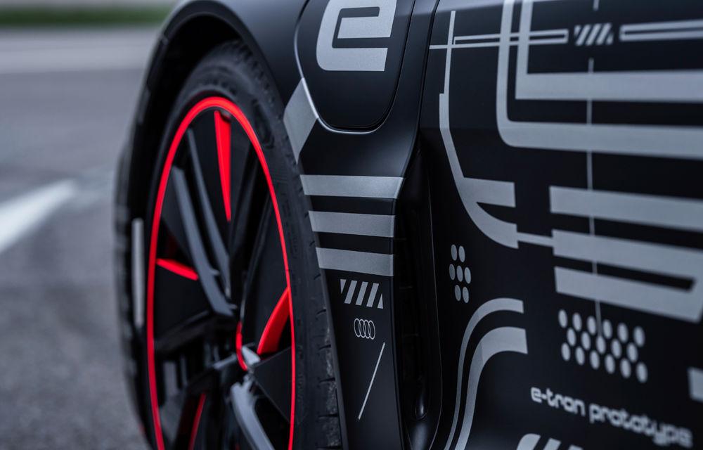 Audi publică teasere cu versiunea de serie a lui e-tron GT: sportiva electrică va avea autonomie de 400 de kilometri - Poza 58