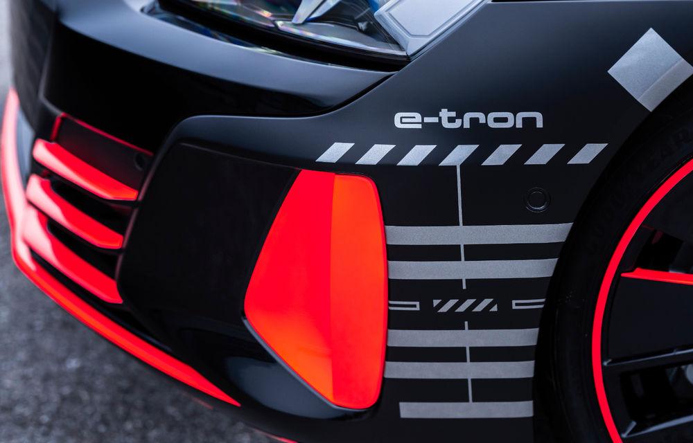 Audi publică teasere cu versiunea de serie a lui e-tron GT: sportiva electrică va avea autonomie de 400 de kilometri - Poza 74