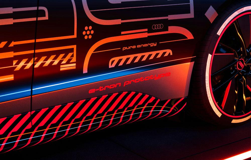 Audi publică teasere cu versiunea de serie a lui e-tron GT: sportiva electrică va avea autonomie de 400 de kilometri - Poza 46