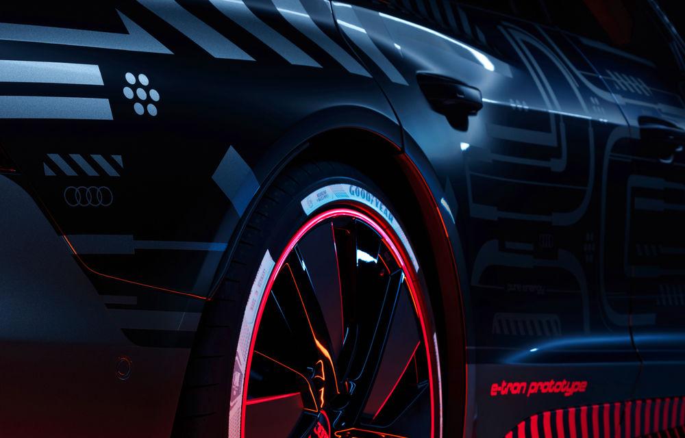 Audi publică teasere cu versiunea de serie a lui e-tron GT: sportiva electrică va avea autonomie de 400 de kilometri - Poza 28