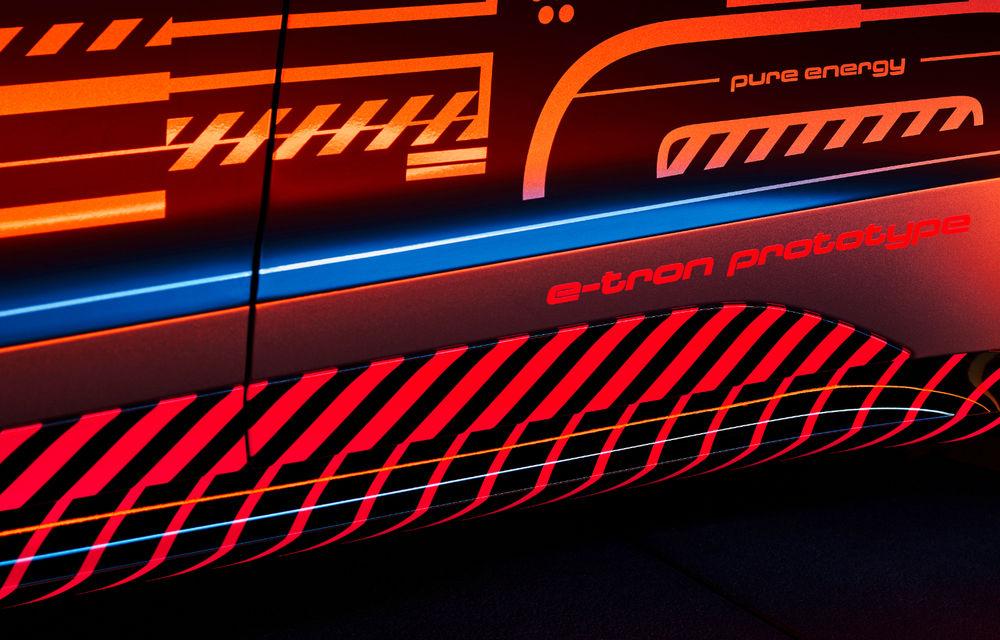 Audi publică teasere cu versiunea de serie a lui e-tron GT: sportiva electrică va avea autonomie de 400 de kilometri - Poza 47