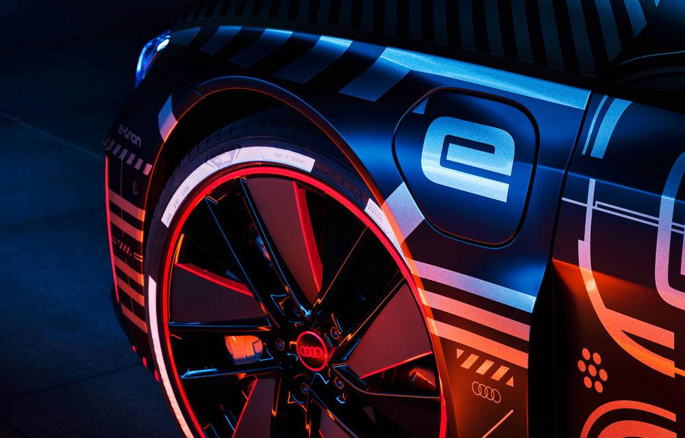 Audi publică teasere cu versiunea de serie a lui e-tron GT: sportiva electrică va avea autonomie de 400 de kilometri - Poza 7