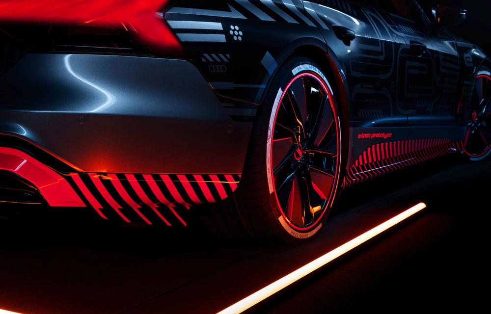 Audi publică teasere cu versiunea de serie a lui e-tron GT: sportiva electrică va avea autonomie de 400 de kilometri - Poza 25