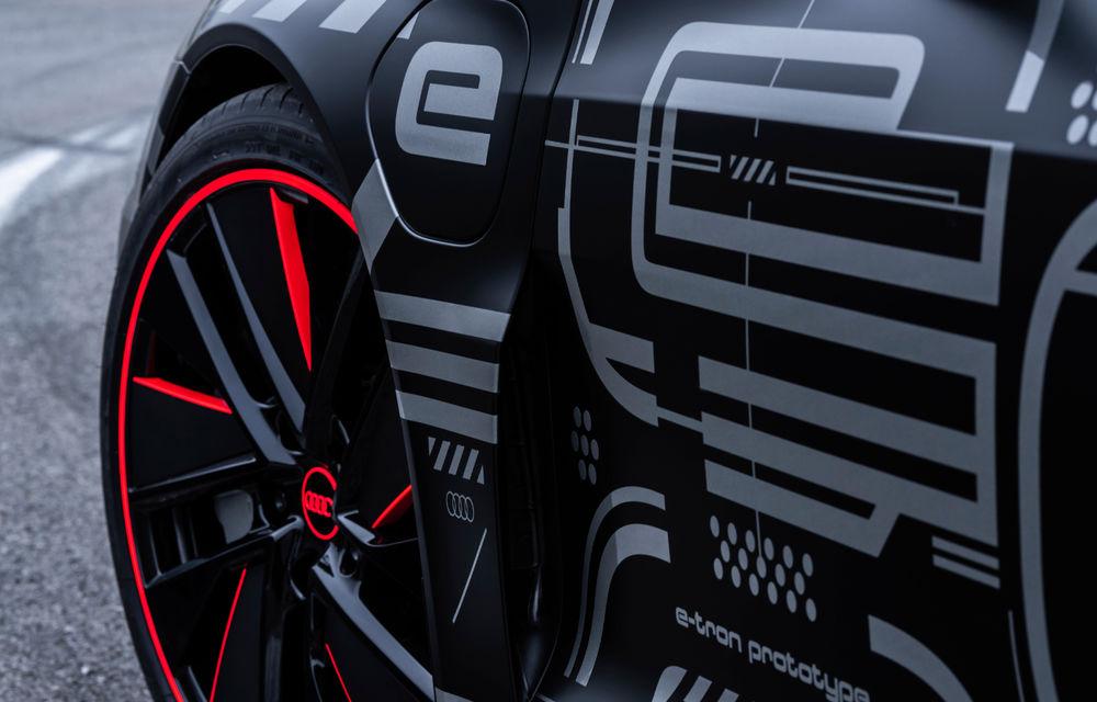 Audi publică teasere cu versiunea de serie a lui e-tron GT: sportiva electrică va avea autonomie de 400 de kilometri - Poza 62