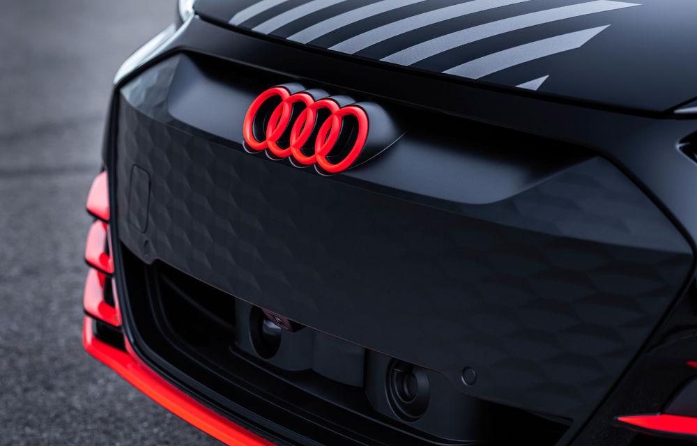 Audi publică teasere cu versiunea de serie a lui e-tron GT: sportiva electrică va avea autonomie de 400 de kilometri - Poza 55