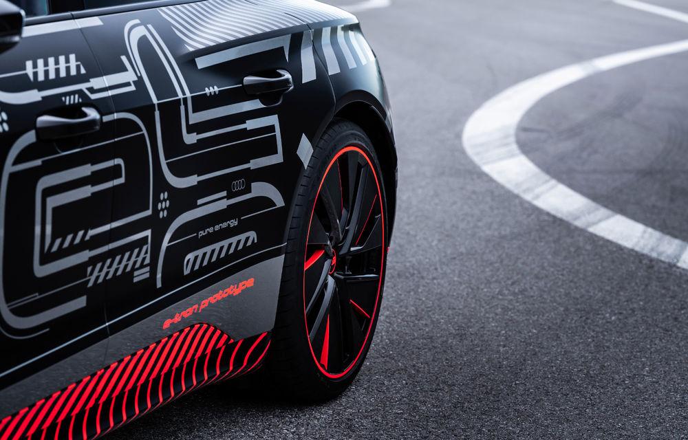 Audi publică teasere cu versiunea de serie a lui e-tron GT: sportiva electrică va avea autonomie de 400 de kilometri - Poza 77