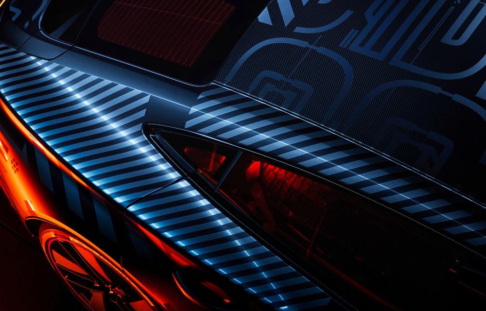 Audi publică teasere cu versiunea de serie a lui e-tron GT: sportiva electrică va avea autonomie de 400 de kilometri - Poza 20